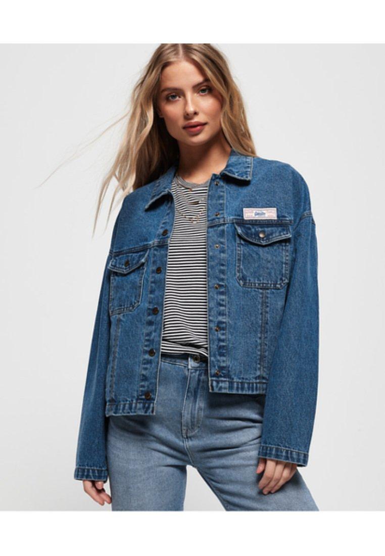 Superdry - Veste en jean - trucker blue