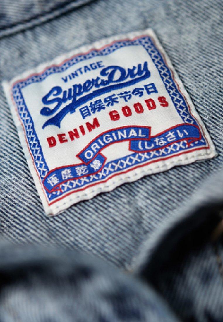 Superdry Blue Di Giacca Blue Jeans Di Superdry Superdry Di Giacca Giacca Jeans PZuOkiX