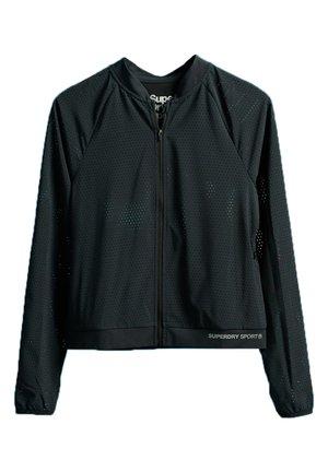 SUPERDRY TRAINING LIGHTWEIGHT JACKET - Training jacket - black