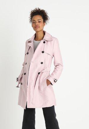 BELLE  - Trenchcoat - blush pink