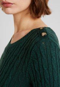Superdry - CROYDE CABLE  - Jersey de punto - emerald green - 5