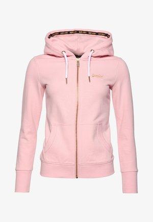 ORANGE LABEL - Bluza rozpinana - pink faded