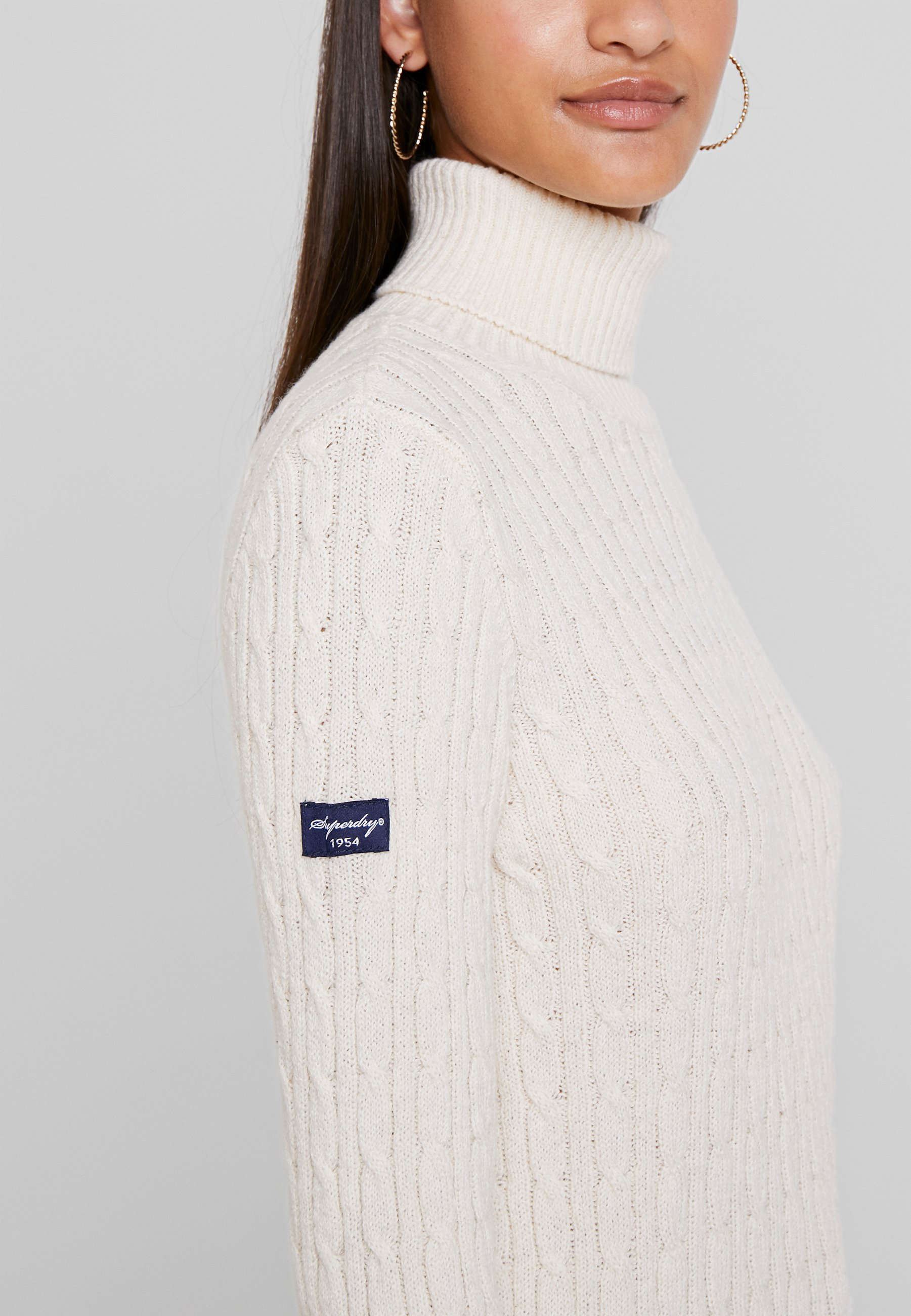 Roll NeckPullover Superdry Croyde Cable Winter iZXukP