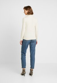 Superdry - CROYDE CABLE ROLL NECK - Svetr - winter - 2