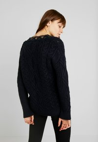 Superdry - LANNAH CABLE - Pullover - navy - 2