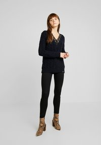 Superdry - LANNAH CABLE - Pullover - navy - 1