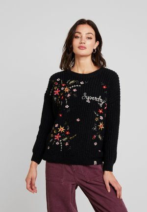 OFF BEAT RODEO HANDCRAFT - Jumper - black