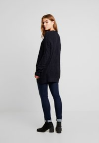 Superdry - LANNAH CABLE CARDIGAN - Cardigan - eclipse navy - 2