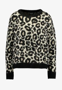 Superdry - LISA LEOPARD JUMPER - Jumper - brown - 5