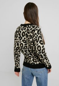 Superdry - LISA LEOPARD JUMPER - Jumper - brown - 2