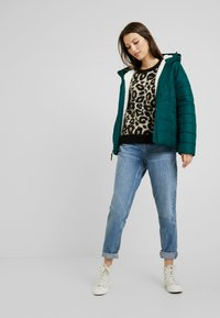Superdry - LISA LEOPARD JUMPER - Jumper - brown - 1