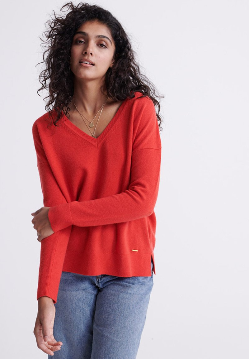 Superdry - Trui - festive red