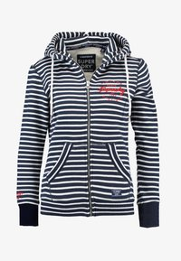 Superdry - APPLIQUE ZIPHOOD - Zip-up hoodie - mystic navy - 3