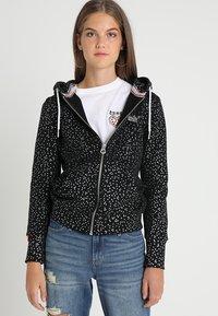 Superdry - ORANGE LABEL ZIPHOOD - veste en sweat zippée - black - 0