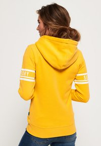 Superdry - HERITAGE - veste en sweat zippée - sporty ochre - 2