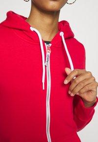 Superdry - ATHLETIC ZIPHOOD - veste en sweat zippée - trady red - 4