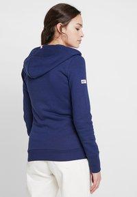Superdry - ATHLETIC ZIPHOOD - Zip-up hoodie - city navy - 2
