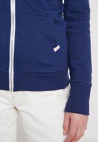 Superdry - ATHLETIC ZIPHOOD - Zip-up hoodie - city navy - 5