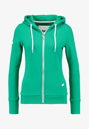 ATHLETIC ZIPHOOD - Bluza rozpinana - city green