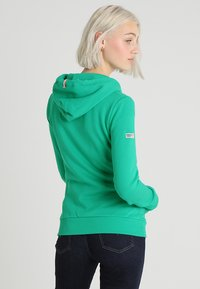 Superdry - ATHLETIC ZIPHOOD - Bluza rozpinana - city green - 2