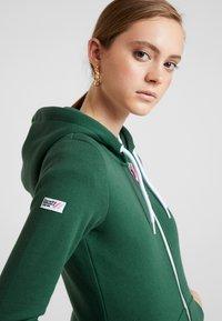 Superdry - ATHLETIC ZIPHOOD - veste en sweat zippée - spruce - 3