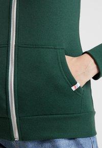 Superdry - ATHLETIC ZIPHOOD - veste en sweat zippée - spruce - 5