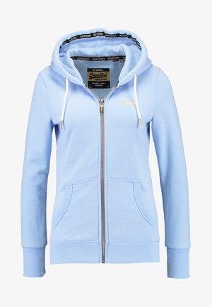 LABEL ELITE ZIPHOOD - veste en sweat zippée - elite blue