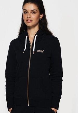 LABEL ELITE ZIPHOOD - veste en sweat zippée - elite navy blue