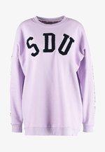 ALICIA CREW - Sweatshirt - parma violet