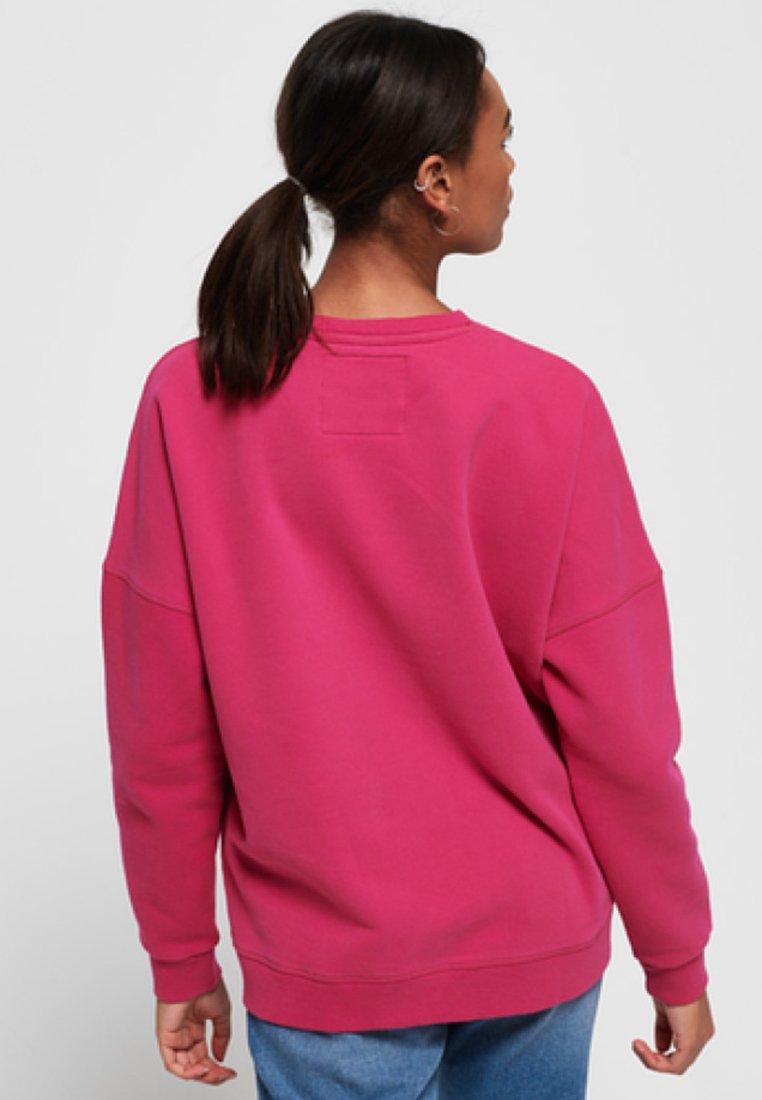 Superdry Blair Crew - Sweatshirt Pink Black Friday