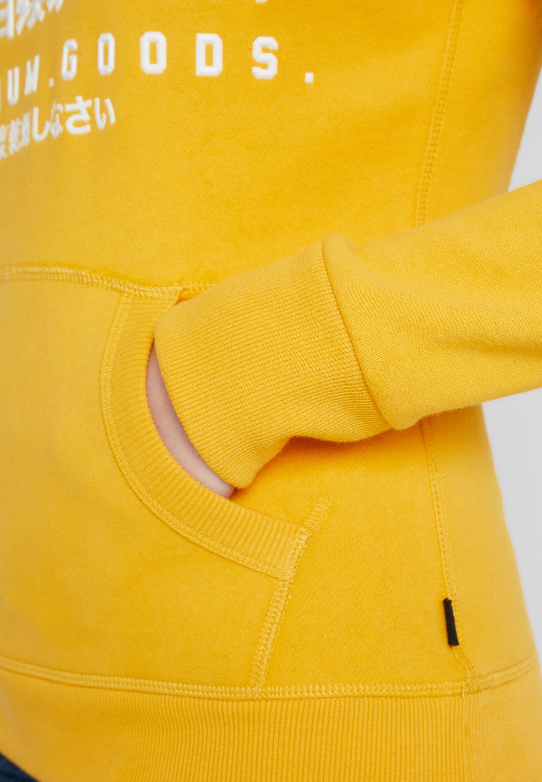 Ochre Superdry À Goods Desert HoodSweat Premium Capuche Gloss Entry yIYf7bv6g