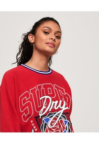 Superdry - Sweatshirt - nautical red - 3