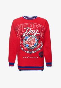 Superdry - Sweatshirt - nautical red - 5
