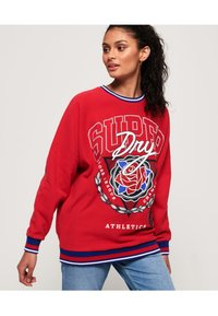 Superdry - Sweatshirt - nautical red - 0
