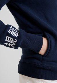 Superdry - APPLIQUE ZIPHOOD - Zip-up hoodie - navy - 3