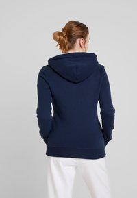 Superdry - APPLIQUE ZIPHOOD - Zip-up hoodie - navy - 2