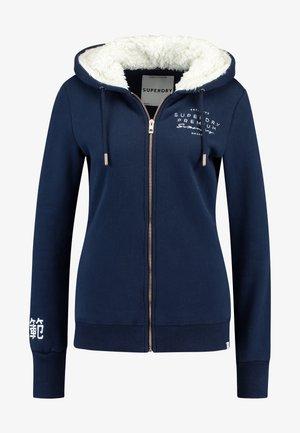 APPLIQUE ZIPHOOD - Bluza rozpinana - navy