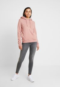 Superdry - APPLIQUE HOOD - Huppari - smoke rose - 1