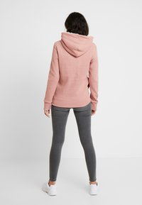Superdry - APPLIQUE HOOD - Huppari - smoke rose - 2