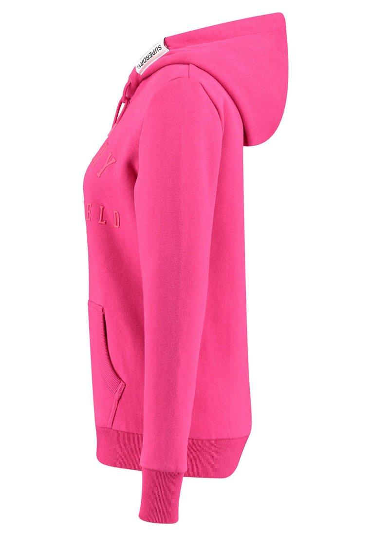 Superdry Bluza z kapturem - pink