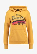 RAINBOW SHADOW - Jersey con capucha - golden yellow