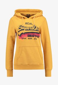 Superdry - RAINBOW SHADOW - Jersey con capucha - golden yellow - 3