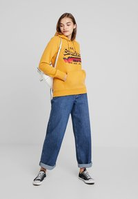 Superdry - RAINBOW SHADOW - Jersey con capucha - golden yellow - 1