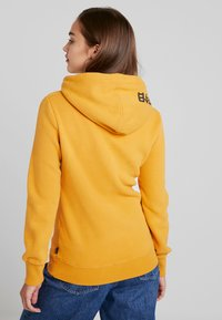 Superdry - RAINBOW SHADOW - Jersey con capucha - golden yellow - 2