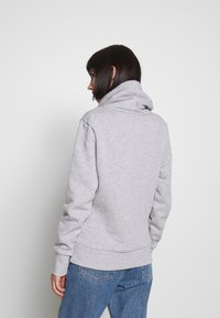 Superdry - APPLIQUE FUNNEL HOOD - Mikina s kapucí - mid grey marl - 2