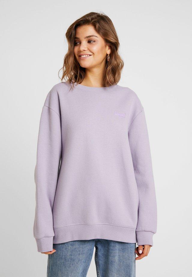 ELITE CREW - Sweater - dusty lilac