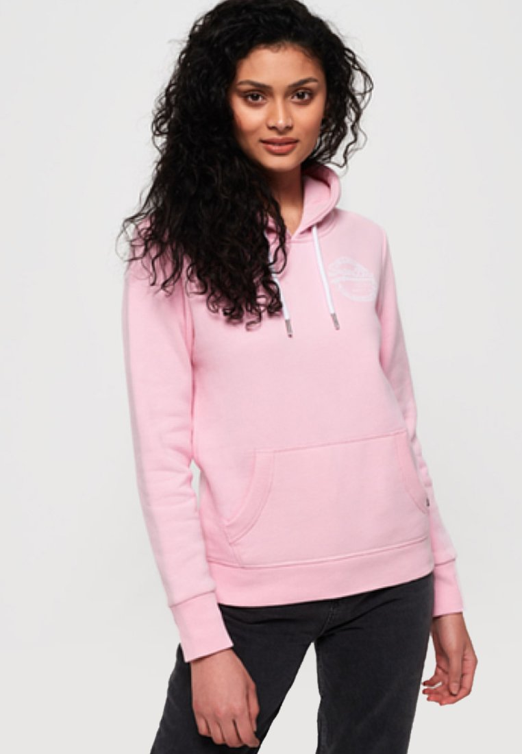Superdry - Kapuzenpullover - fondant pink