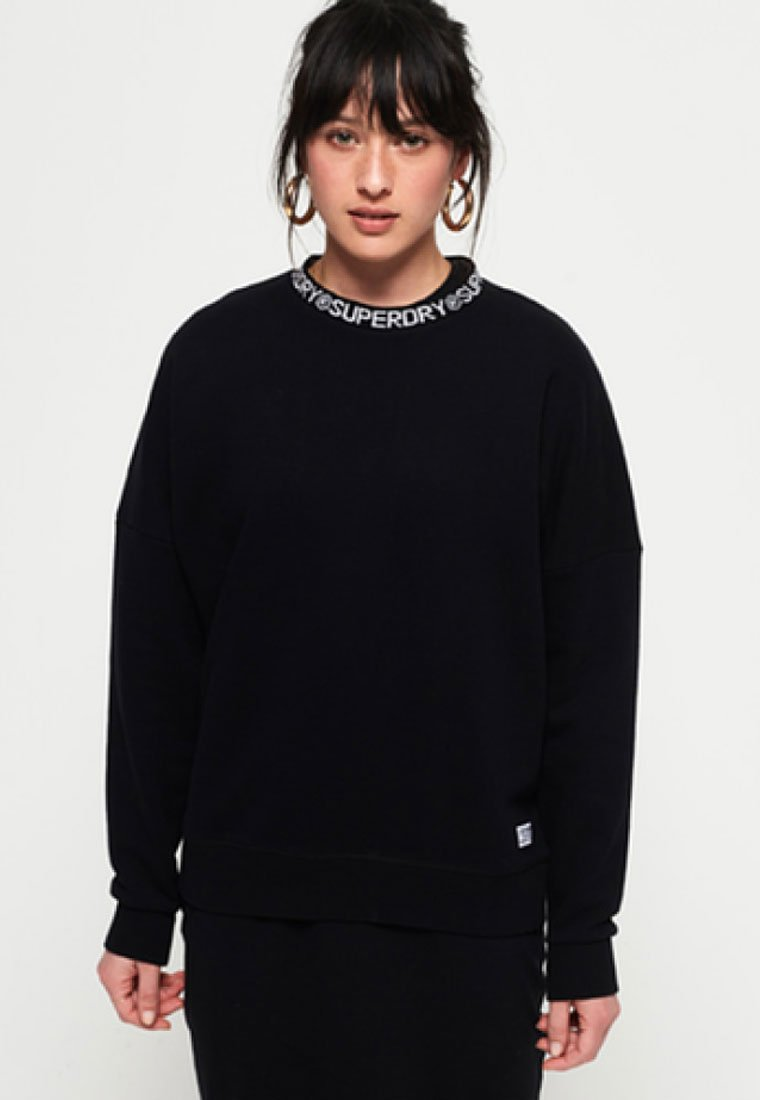 Superdry - KURA  - Sweatshirt - black