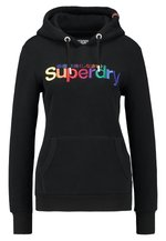 Superdry CLASSIC RAINBOW ENTRY HOOD Sweat à capuche