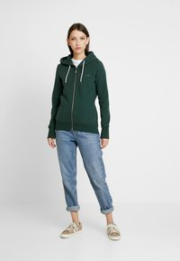 Superdry - ELITE ZIPHOOD - Hettejakke - eagle green - 1